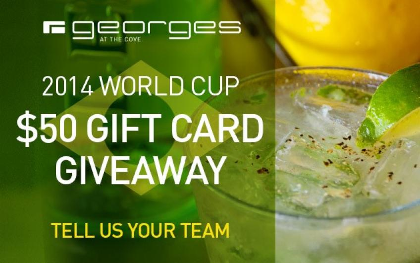 Facebook Giveaway - World Cup 2014