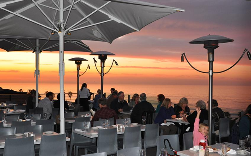 A Typical Fabulous Sunset at George's at the Cove