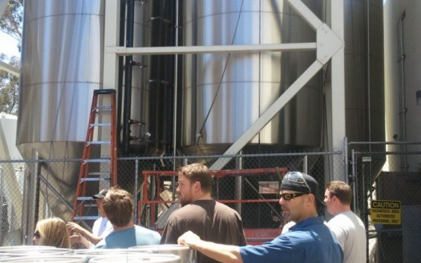 Our Ballast Point Tour & Tasting