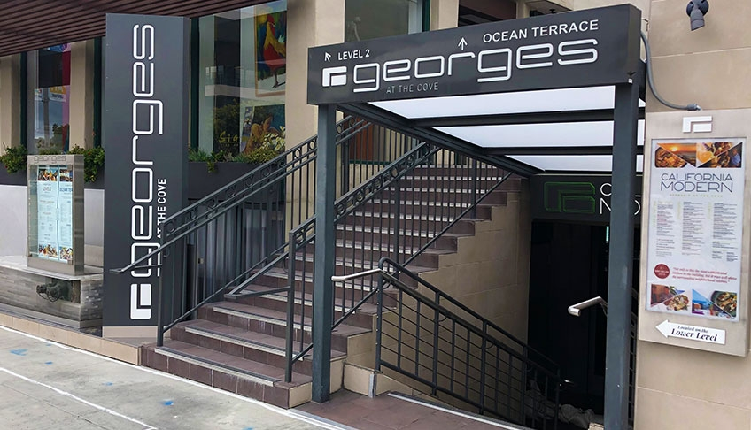 George's front entrance