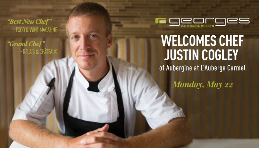 Chef Justin Cogley Collaboration Dinner
