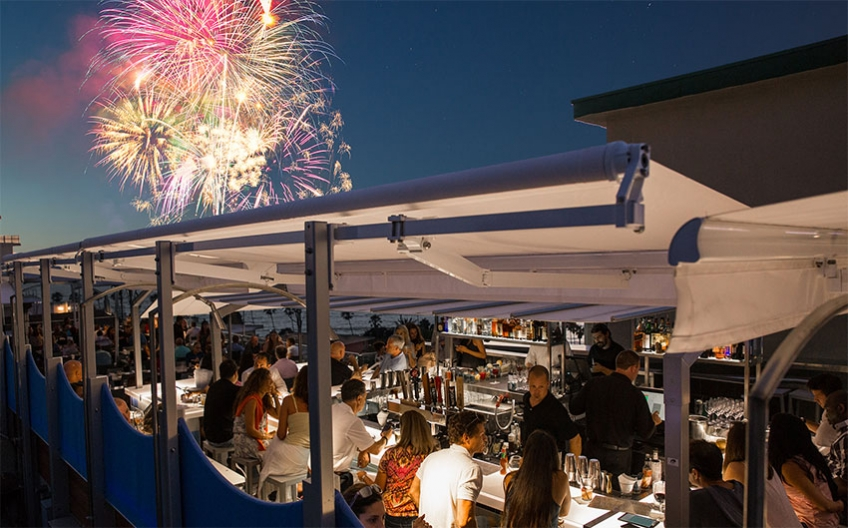 July 4th at George's at the Cove
