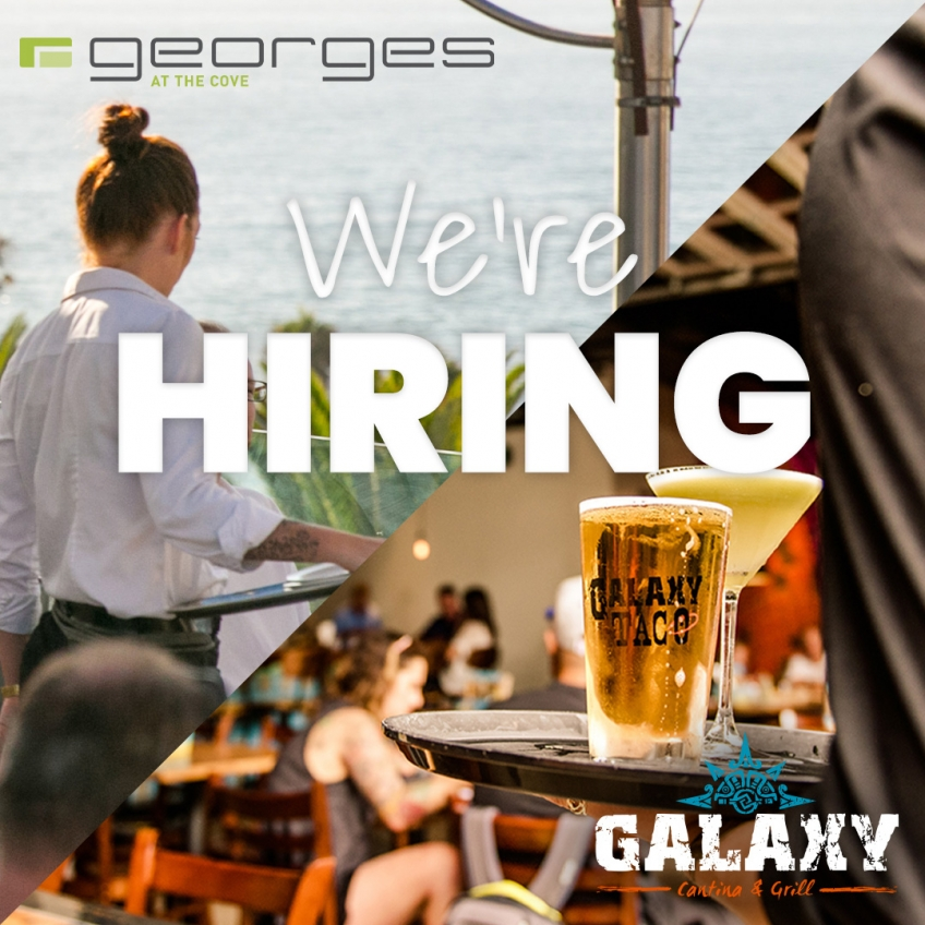 We're Hiring at Georges and Galaxy