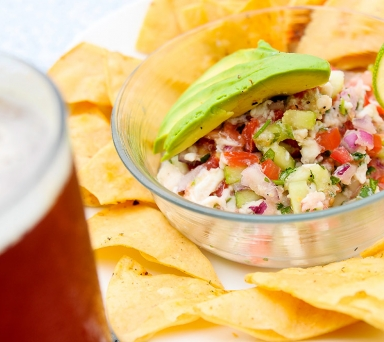 Seasonal Fish Ceviche
