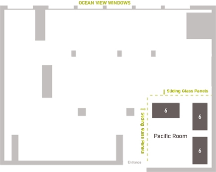 Pacific Room Layout
