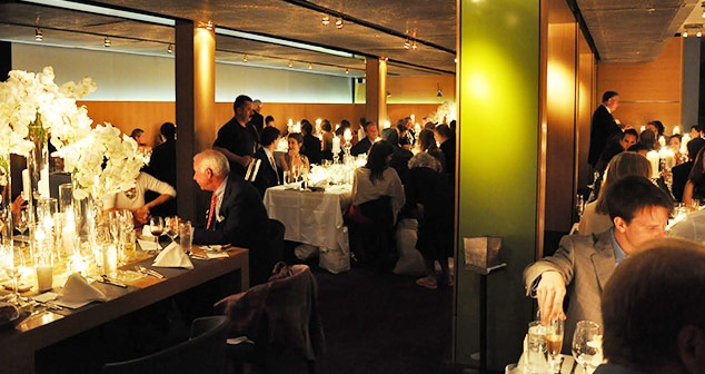 Ocean View Room & Pacific Room group event with guests