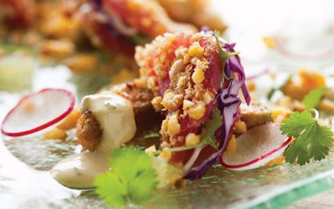 San Diego Union-Tribune: George's Reinvented 'Fish Tacos', As Seen On TV