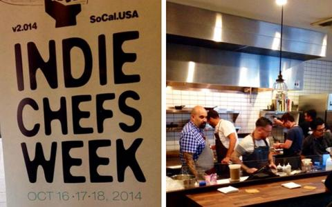 Indie Chefs Week SoCal