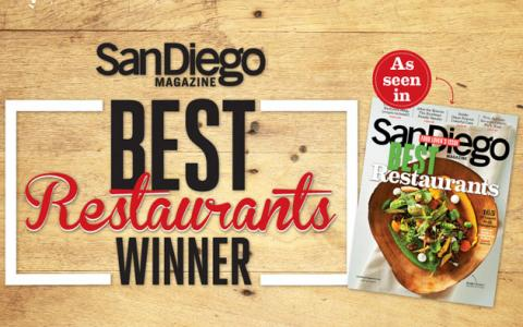 George's Takes Top Honors in San Diego Magazine's 2014 Best Restaurants Poll