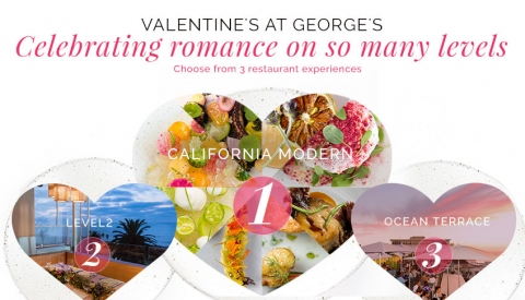 Celebrate Valentine's Day at George's