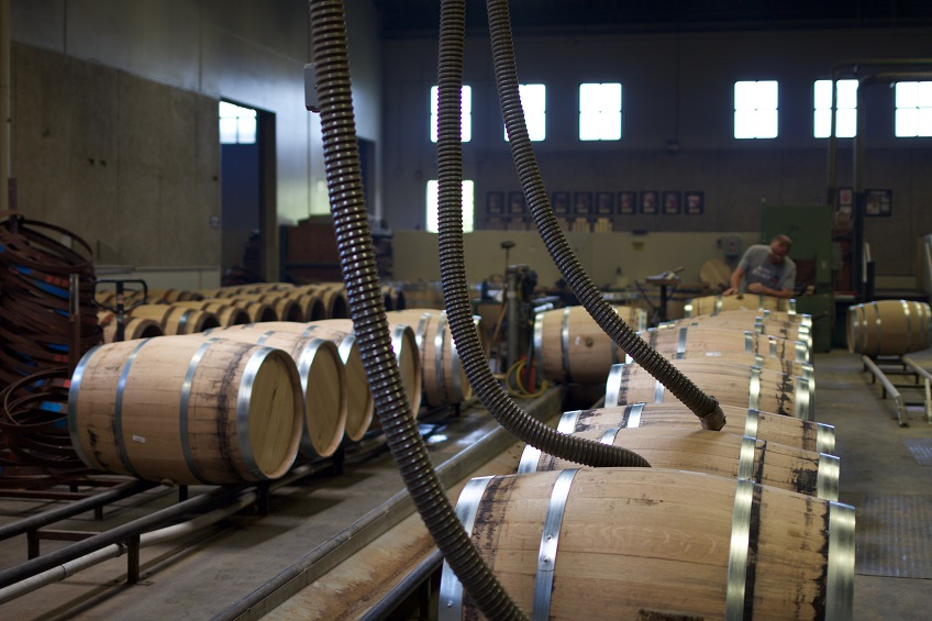 Seguin Moreau of Napa Valley wine barrels